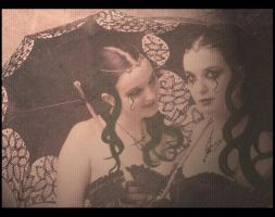 Gothic Sisters by livyer