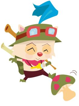 League of legends teemo by Leyrene