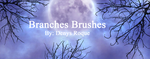 Brushes Branches By Denys Roque by DenysRoqueDesign