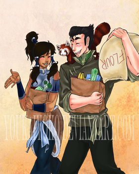 Borra- Shopping by Youkai-Yoko