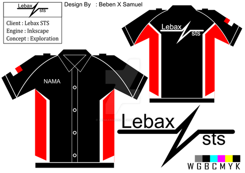 [[Project]] Lebax STS Shirt Design by Megaangkasa