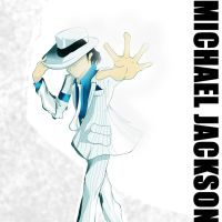 Michael Jackson (Smooth Criminal) [Album Cover] by Valdaglerion