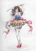 Warrior Snow White by Lady-with-a-buzzsaw