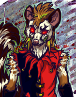 Killer Genet clown by NekoSkunk