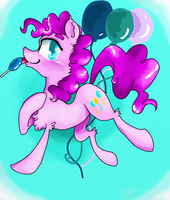 Character Portrait: Pinkie Pie by NicoTheMintyRabbit