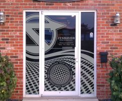 Front Door Art by signcrafter