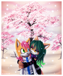 .:Winter blossom:. Prize by Roxo89