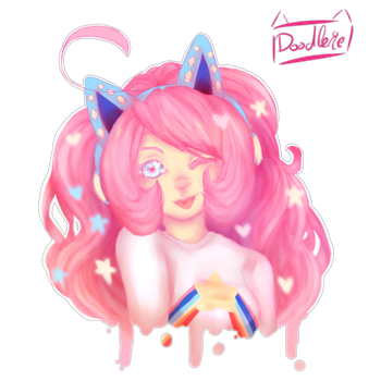 Feel the pink by doodlerie