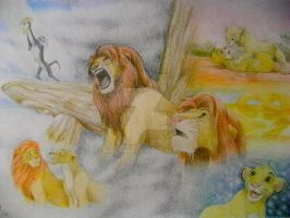 The Lion King by Nislande