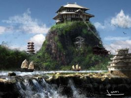 Game Concept- Asia Landscape by vofff