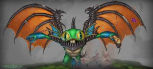Murky deathwing skin by itzaspace
