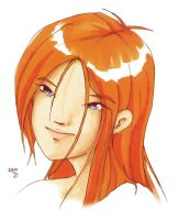Orange Girl by taeun