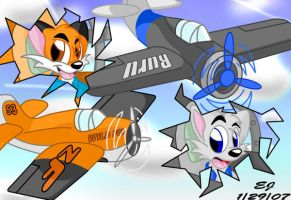 Dogfight by zip-the-fox