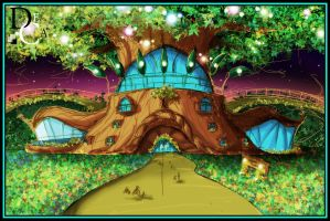 Mad Tree Circus by DECADECA12345