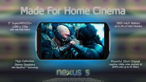 Google Nexus 5 - Home Cinema by r4yNTv