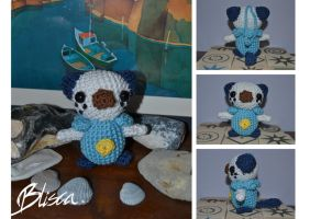 Crochet Oshawott by Blisca