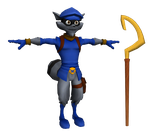 Sly Cooper by o0DemonBoy0o