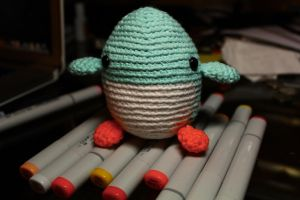 Finished Mercury the Penguin... by DeafDachshunds