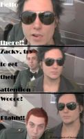 Zacky trying To Get Attention by LizzyVengeance6661