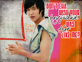 "Lee Min Ho ""Don't Cha"" by avviekola1"