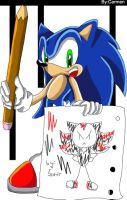 A_Pic_Of_Shadow_By...Sonic ._. by CarmenSegado