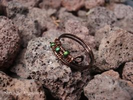 Copper Forest Ring by Strange-Argument
