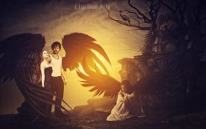 The Lament of Renegade Angels! by CharllieeArts