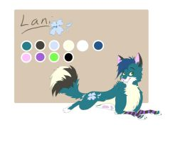Lani ref sheet by Bonday