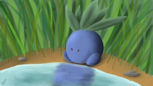 No. 43- Oddish by Fanciest-Llama