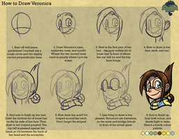 Tutorial: How to Draw Veronica by forte-girl7