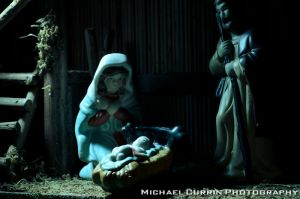 Nativity manger I by TheSoftCollision