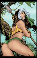 Savage Land Rogue by Amaryth