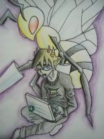 Sollux and beedrill by Briannathewingedwolf