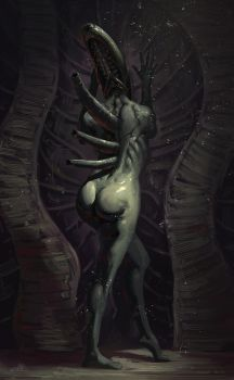 Giger Thing by Vyter
