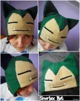 Snorlax Hat by SmileAndLead
