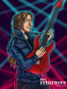 Edgar Roni Figaro as Electric Guitarist by selie