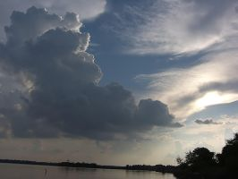 july CLOUDS OFF DOCK by CorazondeDios