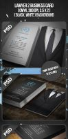 Lawyer 2 Business Card by VadimSoloviev