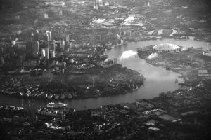 London from a Plane by tamigabriely