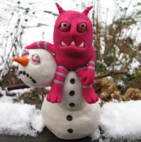 snowman by mealymonsterland