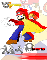 VS. Universe Profile: Mario by Xero-J