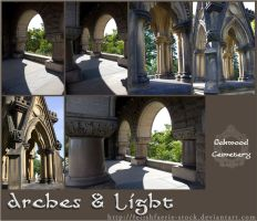 Arches and Light by fetishfaerie-stock