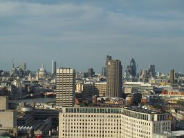 London Skyline by Smaragd01