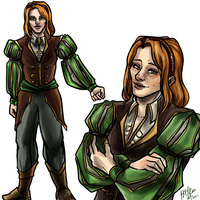 Orlesian Finery Aveline by PayRoo