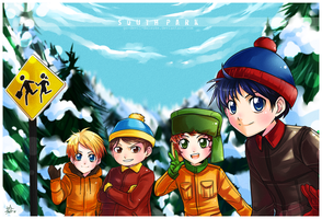 South Park by ZombieDaisuke