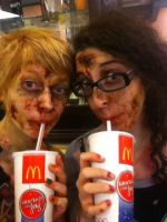The Undead Take Over Fast Food (part dos) by Imagine-athena