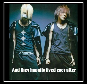 happily forever GazettE by blackdeadivy