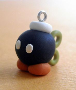 Bob-omb charm by rude-and-reckless