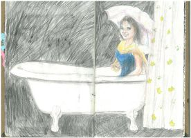 Sketchbook Project 2011 - Bath by lizzy1e