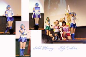 Sailor Mercury - Stage On by Kairi-Heartless